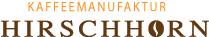 Logo Kaffeemanufaktor Hirschhorn